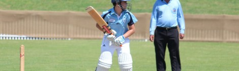 Matthew Simpson selected into Cricket NSW Academy