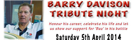 Barry Davison Tribute Night
