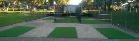 Practice Nets Upgrade Completed